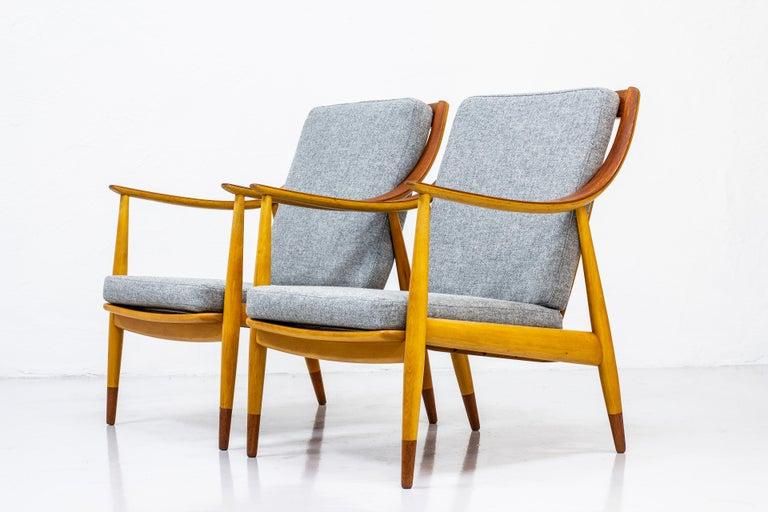 Scandinavian Modern Danish lounge chairs