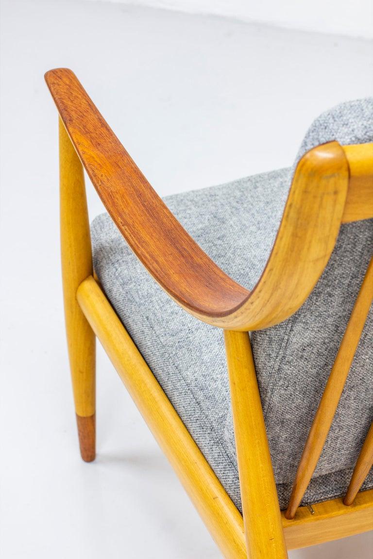 Wool Danish lounge chairs