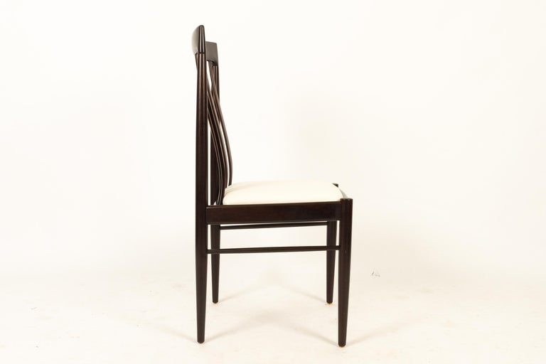 Danish Mahogany Dining Chairs by H. W. Klein for Bramin 1970s Set of 6 For Sale 5