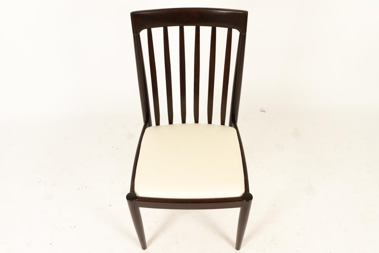 Danish Mahogany Dining Chairs by H. W. Klein for Bramin 1970s Set of 6 For Sale 7
