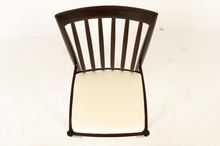 Danish Mahogany Dining Chairs by H. W. Klein for Bramin 1970s Set of 6 For Sale 9