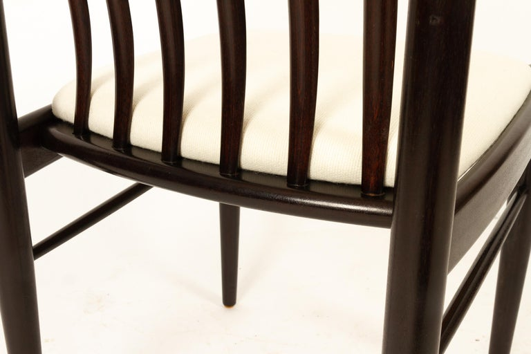 Danish Mahogany Dining Chairs by H. W. Klein for Bramin 1970s Set of 6 For Sale 12