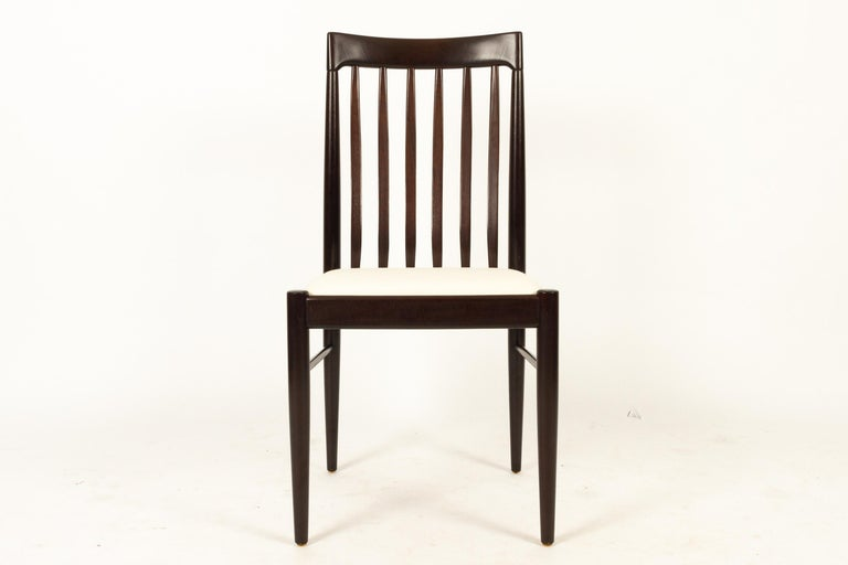 Danish Mahogany Dining Chairs by H. W. Klein for Bramin 1970s Set of 6 In Good Condition For Sale In Nibe, Nordjylland