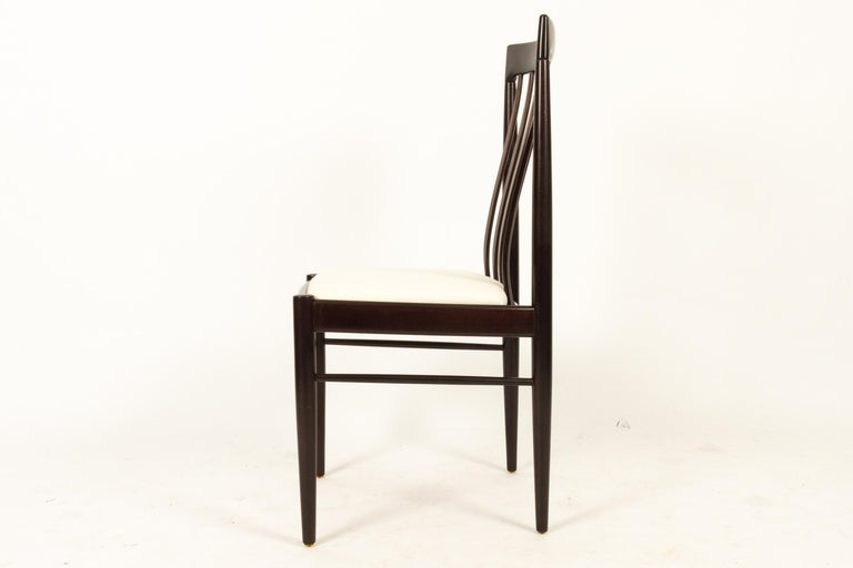 Danish Mahogany Dining Chairs by H. W. Klein for Bramin 1970s Set of 6 For Sale 1