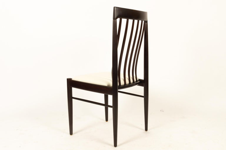 Danish Mahogany Dining Chairs by H. W. Klein for Bramin 1970s Set of 6 For Sale 2