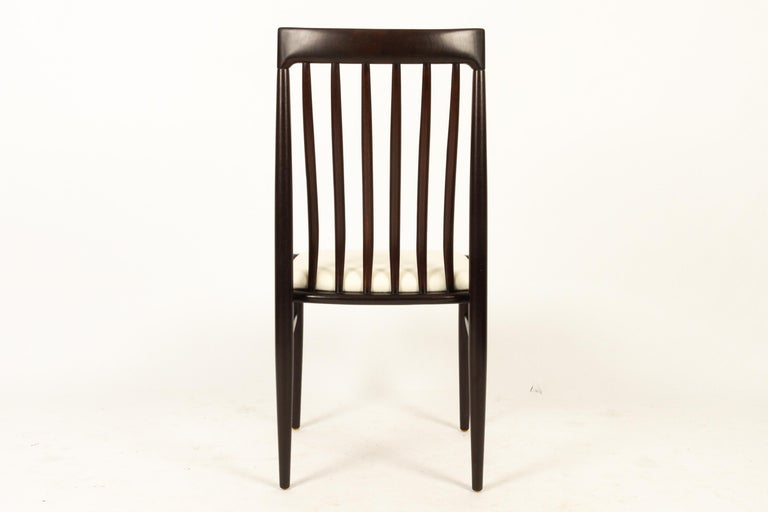 Danish Mahogany Dining Chairs by H. W. Klein for Bramin 1970s Set of 6 For Sale 3