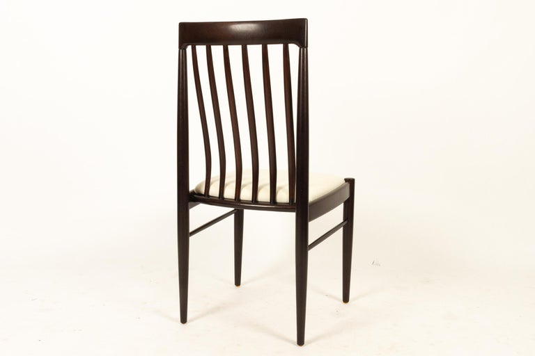 Danish Mahogany Dining Chairs by H. W. Klein for Bramin 1970s Set of 6 For Sale 4