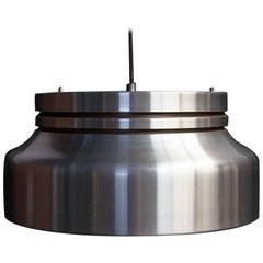Danish Metal Ceiling Lamp, 1970s