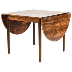 Danish Mid-Century Arne Vodder Style Rosewood Dining Table