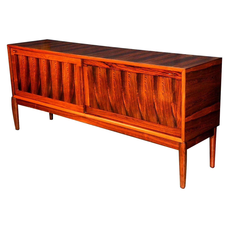 Danish Midcentury H.W. Klein for Bramin Rosewood Sideboard