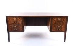 Danish Midcentury Jacob Kjaer Rosewood Desk