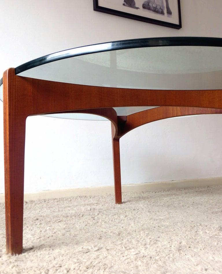 Danish Mid Century Teak Coffee Table 1 Small: Danish Mid-Century Modern Coffee Table By Sven Ellekaer In