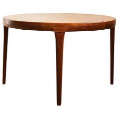 Danish Mid-Century Modern Extendable Teak Dining Table by Ib Kofod-Larsen, 1960s