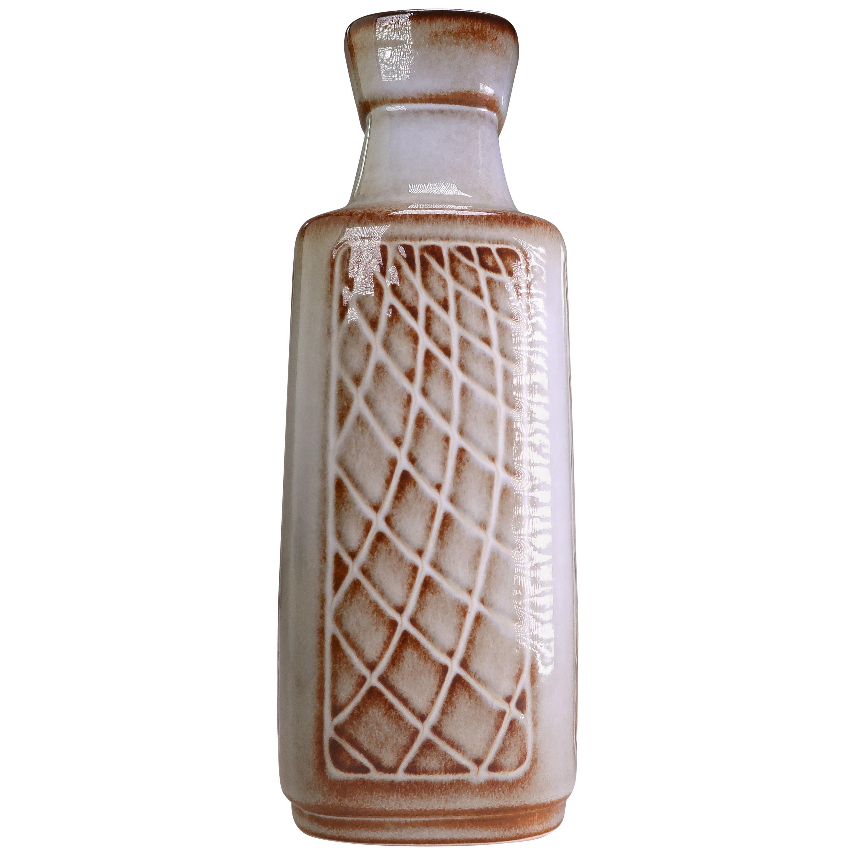 Danish Mid-Century Modern Grey Ceramic Vase by Einar Johansen for Soholm, 1960s
