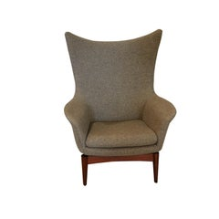 Danish Mid-Century Modern HW Klein for Bramin Wing Lounge Chair