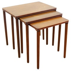 Danish Mid-Century Modern Nesting Tables