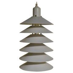 Danish Mid-Century Modern Pendant Light Jorgen Gammelgaard for Fog & Morup 1970s