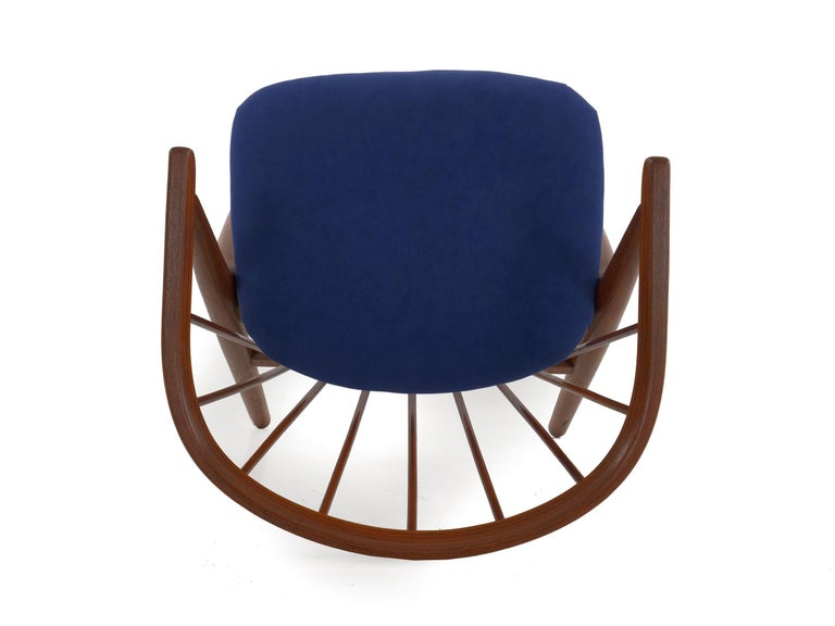 """Danish Mid-Century Modern Spindle-Back Armchair """"No. 8"""" by Helge Sibast For Sale 12"""