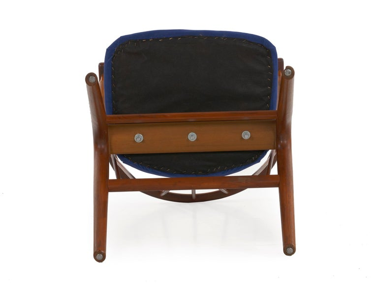 """Danish Mid-Century Modern Spindle-Back Armchair """"No. 8"""" by Helge Sibast For Sale 14"""