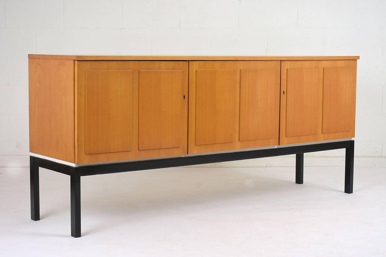 Danish Style Credenza : Danish mid century modern style credenza circa at stdibs