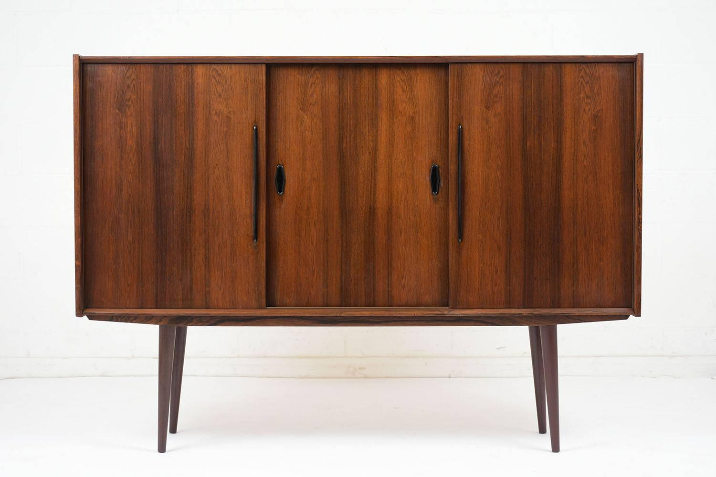 1960s Danish Credenza : Danish mid century modern teak credenza circa for sale at