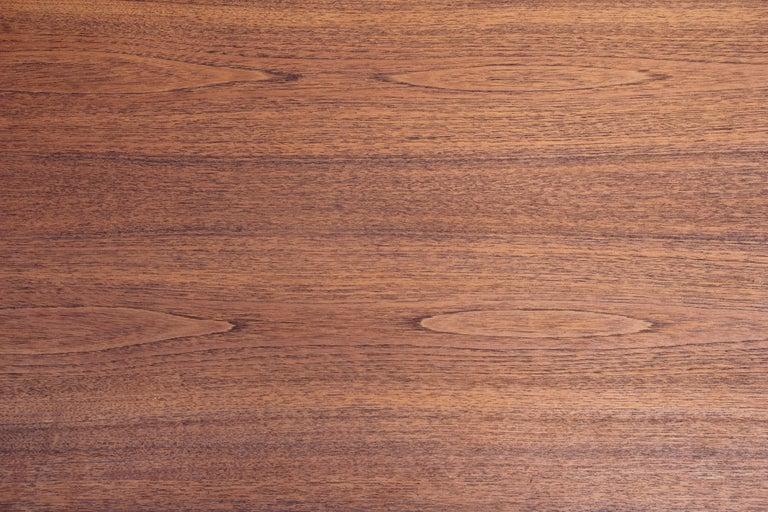 Danish Mid-Century Modern Teak Rectangular Side Table For Sale 1