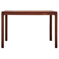 Danish Mid-Century Modern Teak Rectangular Side Table