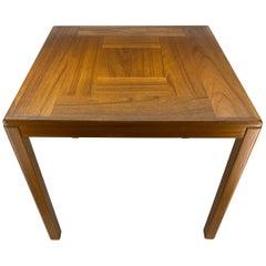 Danish Mid-Century Modern Teak Side Table by Vejle Stole og Mobelfabrik