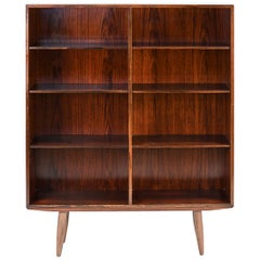 Danish Mid-Century Omann Jun Rosewood Bookcase