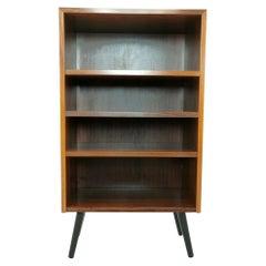 Danish Midcentury Rosewood Bookcase Vintage Shelving Unit, 1970s
