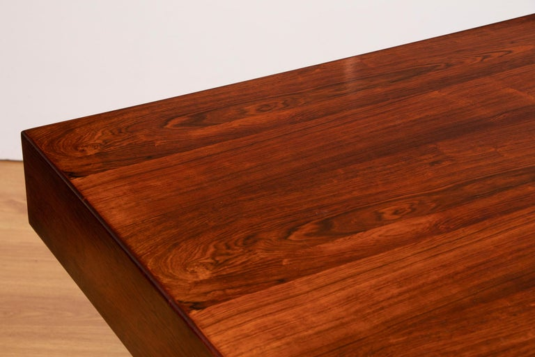20th Century Danish Midcentury Rosewood Desk by Nanna Ditzel For Sale