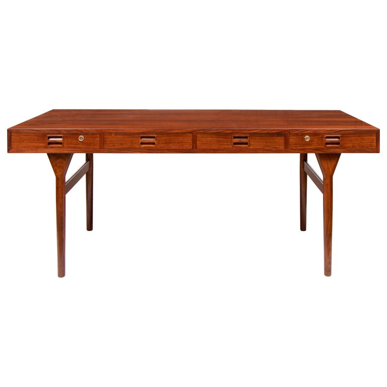 Danish Midcentury Rosewood Desk by Nanna Ditzel For Sale