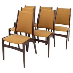 Danish Midcentury Rosewood Dining Chairs, Set of 6
