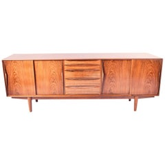 Danish Midcentury Rosewood Sideboard by Arne Vodder for Dyrlund