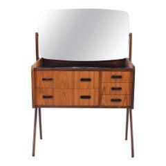 Danish Midcentury Rosewood Vanity