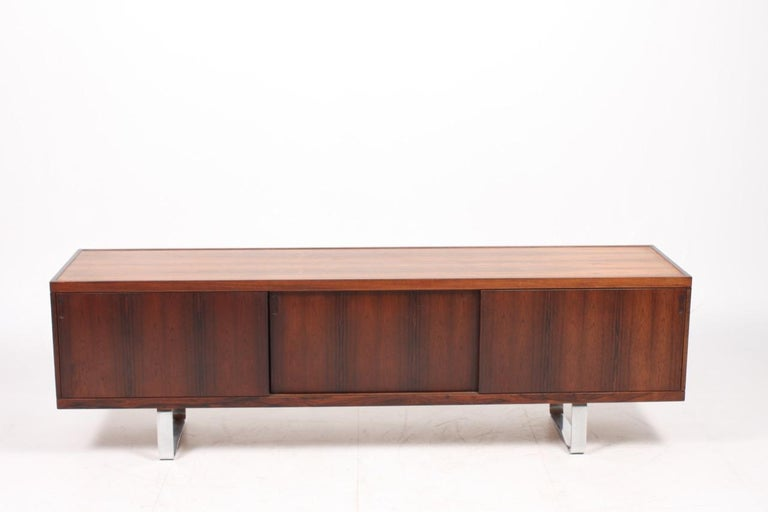Danish Midcentury Sideboard In Rosewood By Jorgen Pedersen For Sale