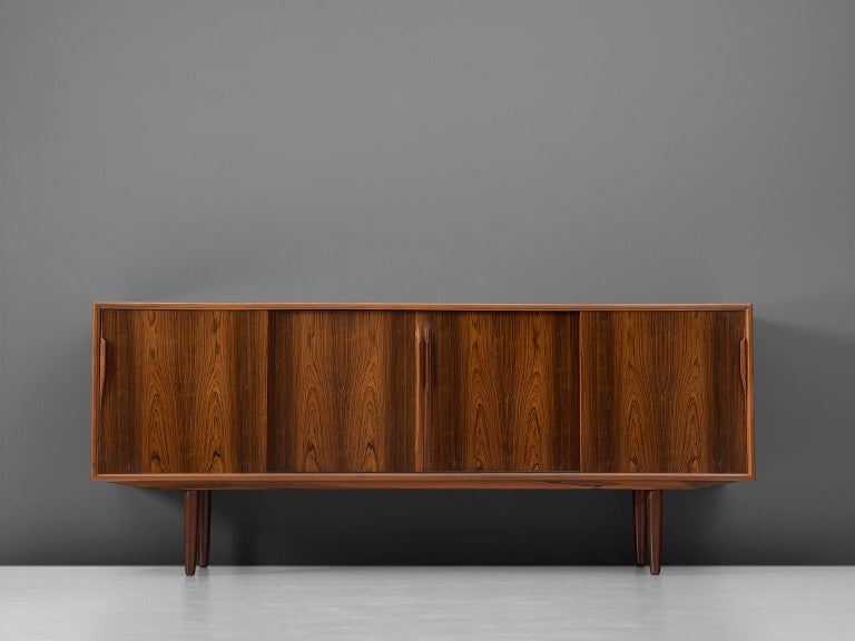 Danish Midcentury Sideboard In Rosewood For Sale At 1stdibs