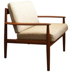 Danish Midcentury Teak Lounge Chair by Grete Jalk for France and Son