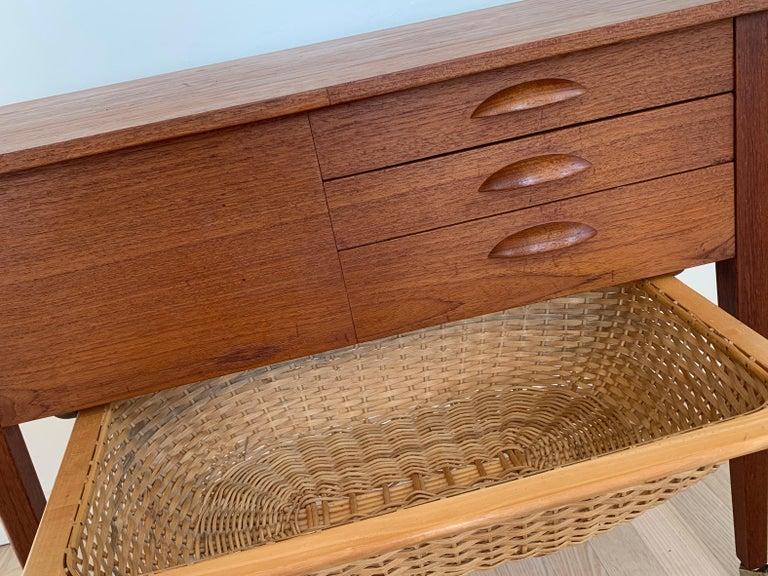 Danish Midcentury Teak Sideboard Or Cabinet For Sale At 1stdibs