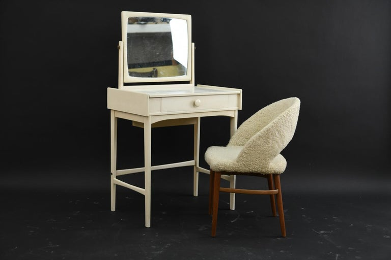 Mid-Century Modern Danish Midcentury Vanity Set For Sale