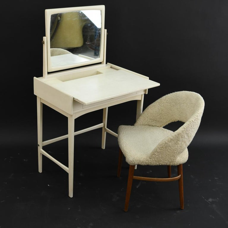 20th Century Danish Midcentury Vanity Set For Sale