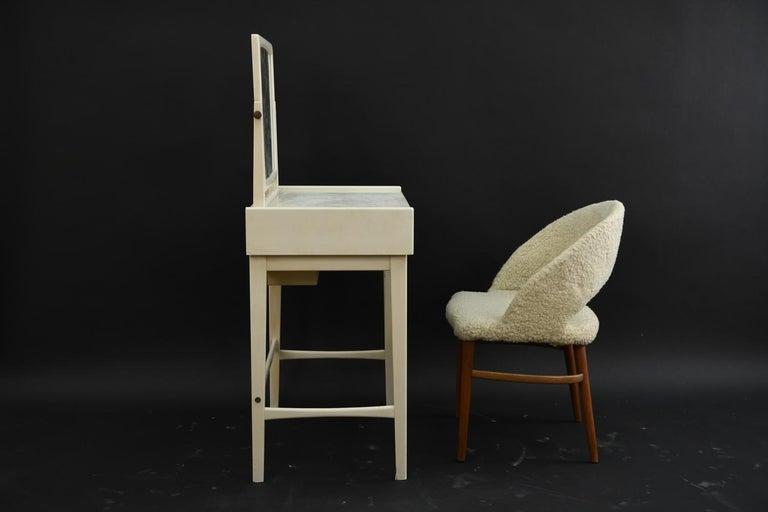 Danish Midcentury Vanity Set For Sale 1