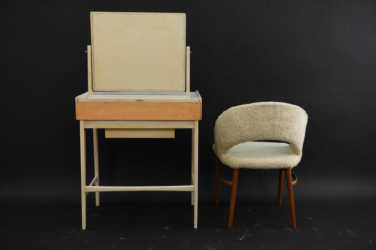 Danish Midcentury Vanity Set For Sale 3