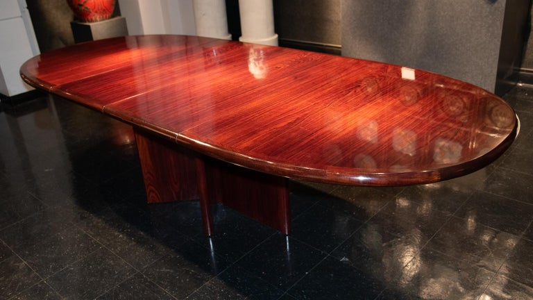 20th Century Danish Mid-2th Century Dining or Conference Table For Sale