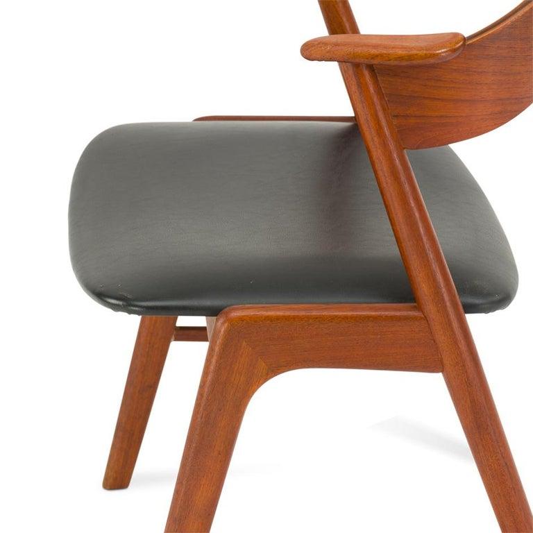 Danish Midcentury Armchair by Kai Kristiansen for Korup Stole Fabrik, 1950s For Sale 1