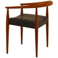 Danish Midcentury Armchair by Nanna Ditzel Model 113 by Kolds Savvaerk