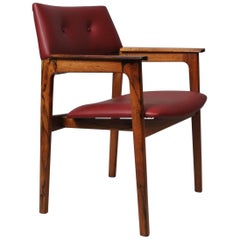 Danish Midcentury Armchair, Fully Reupholstered, 5 Available