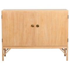 Danish Midcentury Børge Mogensen Sideboard Model 232 of Oak Made by C.M.Madsen