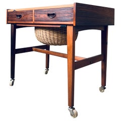 Danish Midcentury Cabinet or Sewing Table