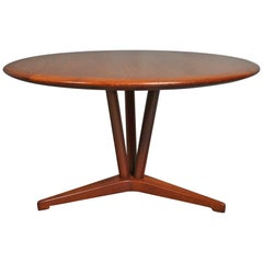 Danish Midcentury Coffee Table, Teak